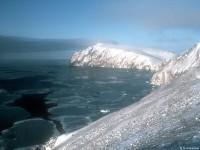 Coastal landscape of Wrangel Island